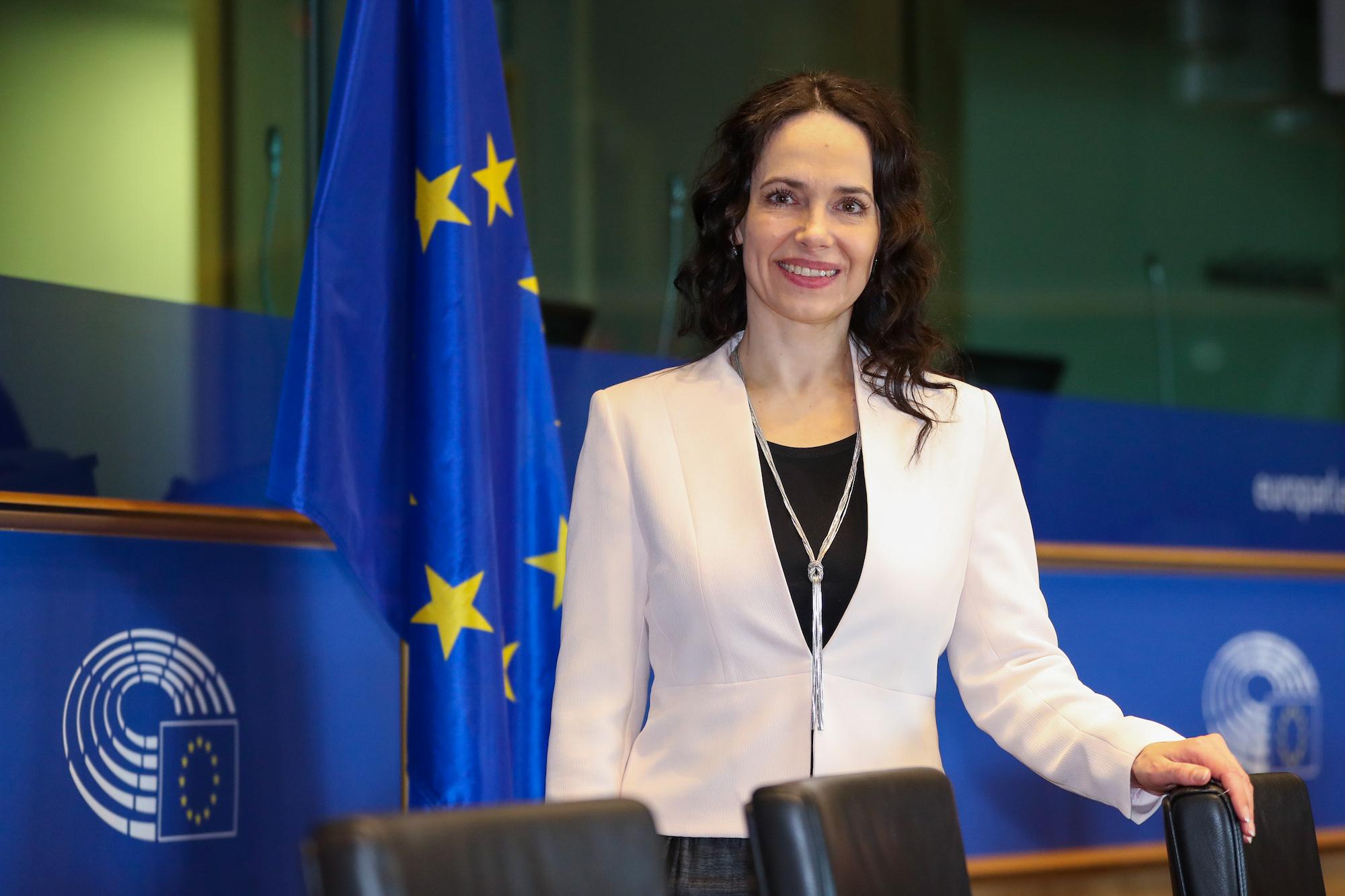 Miriam Lexmann, europoslankyňa (KDH), Foto: Európsky parlament